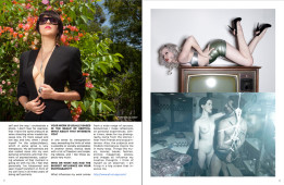 NSFW Likes Alejandra Guerrero | NSFW, January 2013, Issue 7