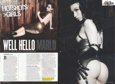 Well Hello Marlo | Bizarre Magazine September 2013, Issue 206